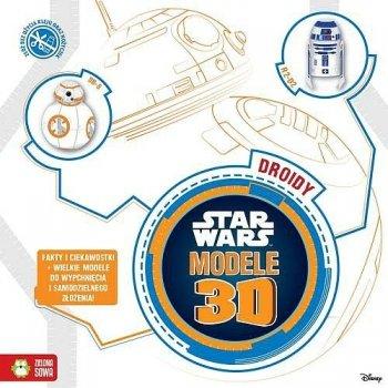 Star Wars. Modele 3D Droidy