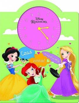 Czas zostać księżniczką. Książka z zegarem