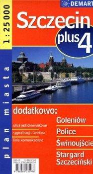 Szczecin +4 1:25000