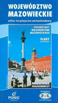 Województwo mazowieckie atlas turystyczno-samochodowy