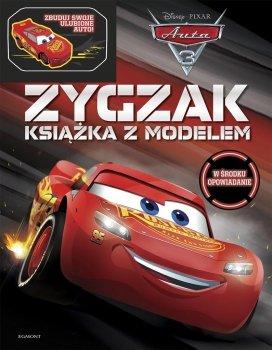 Zygzak - książka z modelem. Auta 3