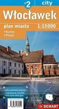 Włocławek, Kutno, Płock. Mapa 1:18 000