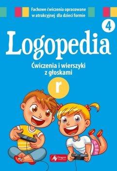 Ćwiczenia i wierszyki z głoskami R. Logopedia 4