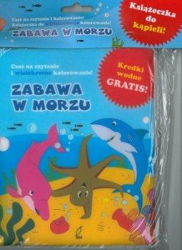 Zabawa na morzu książeczka do kąpieli