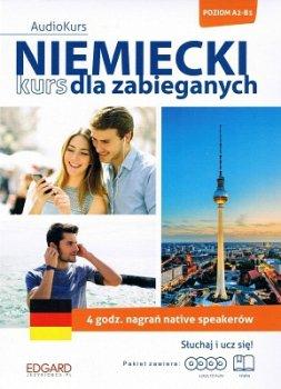 Niemiecki. Kurs dla zabieganych. 4 CD