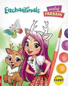 Enchantimals. Maluj farbami