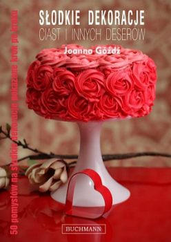 Słodkie dekoracje ciast i innych deserów