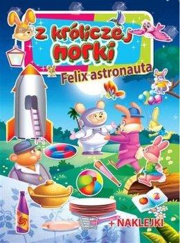 Felix astronauta. Z króliczej norki