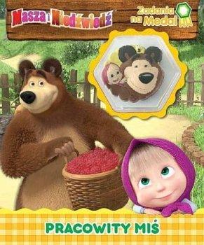 Masza i niedźwiedź. Pracowity Miś. Zadania na medal