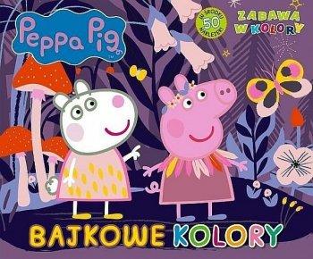 Peppa Pig. Bajkowe kolory. Zabawa w kolory