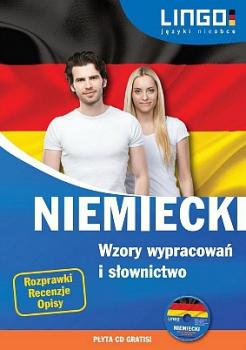 Niemiecki wzory wypracowań i słownictwo + CD
