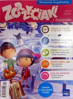 Zgrzyciaki i dzieciaki - grudzień. Miesięcznik drugoklasisty. 01/2015