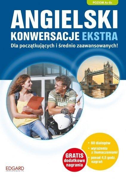Angielski. Konwersacje Ekstra A1-B1 + CD
