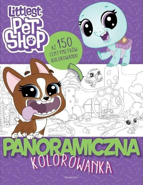 Panoramiczna kolorowanka. Littlest Pet Shop
