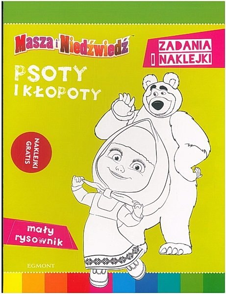 Masza i Niedźwiedź. Psoty i kłopoty