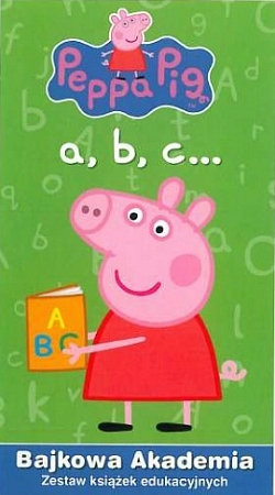 Peppa Pig a,b,c... Bajkowa akademia