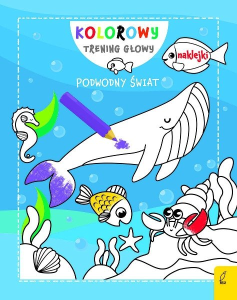 Podwodny świat. Kolorowy trening głowy