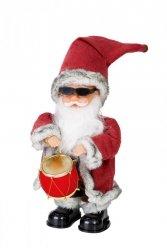 Ozdoba świąteczna MIKOŁAJ ADAM 16X16X30CM