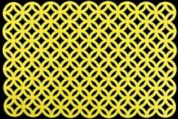 Podkładka 181 Żółta 30X140