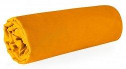 Prześcieradło NOVA z makosatyny 180X210 Pomarańczowe Eurofirany