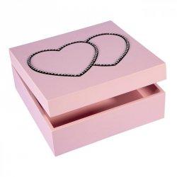 Pudełko LOVE 02 Róż 20X20X8