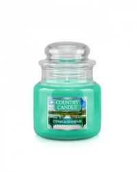 Country Candle - Citrus & Seagrass - Mały słoik (104g)