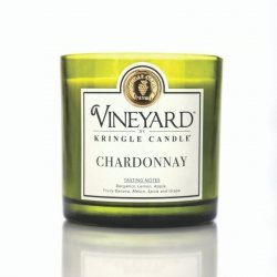 Kringle Candle - Chardonnay - Tumbler (1700g) z 4 knotami