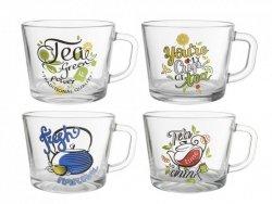 KUBEK JUMBO 450ML CUP OF TEA  1/4 PALETY 120SZT  MIX DEKORACJI