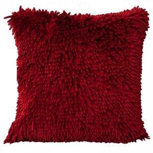 Poszewka Dekoracyjna SHAGGY1 Czerwona 40X40 Eurofirany