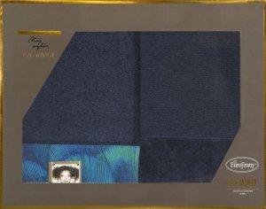 Eva Minge Komplet Ręczników CAMILA 50x90 Granatowy Eurofirany