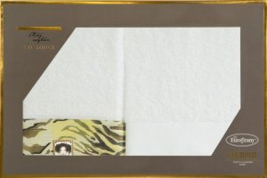 Eva Minge Komplet Ręczników CECIL 70x140 Biały Eurofirany