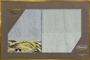 Eva Minge Komplet Ręczników CECIL 70x140 Srebrny Eurofirany
