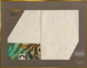 Eva Minge Komplet Ręczników COLLIN 50x90 Beżowy Eurofirany