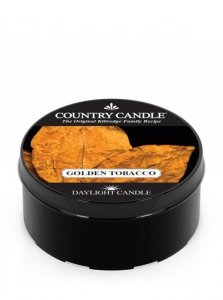 Country Candle - Golden Tobacco - Daylight (35g)