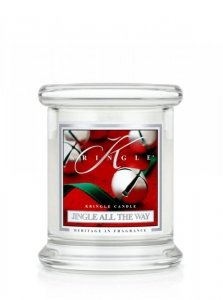 Kringle Candle - Jingle All The Way - mini, klasyczny słoik (128g)