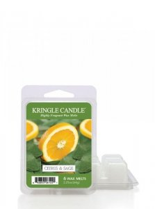 Kringle Candle - Citrus and Sage  - Wosk zapachowy potpourri (64g)