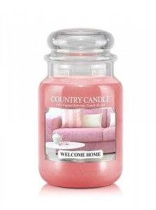 Country Candle - Welcome Home - Duży słoik (652g) 2 knoty