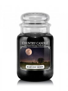 Country Candle - Harvest Moon - Duży słoik (652g) 2 knoty