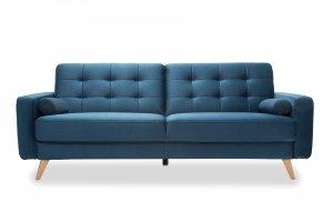 Sofa z funkcją spania 3F - NAPPA  - Granat