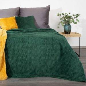 Koc CINDY3 150X200 Ciemny Zielony Design 91