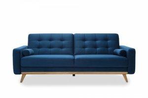 Sofa z funkcją spania 3F - Nova Granat