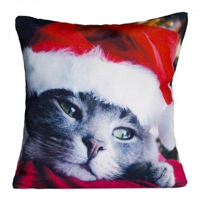 Poszewka świąteczna CAT 04 40X40