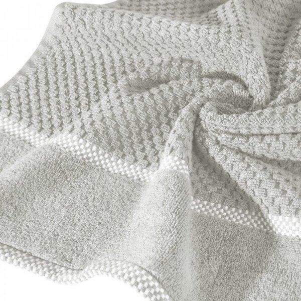 Ręcznik CALEB 70X140 Srebrny