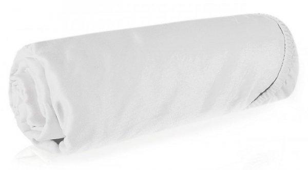 Prześcieradło NOVA3 160X200 z gumką Białe Eurofirany