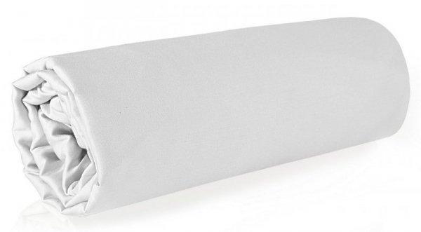 Prześcieradło NOVA z makosatyny 160X210 Białe Eurofirany