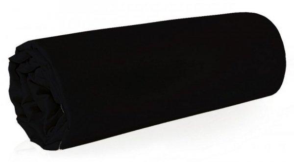 Prześcieradło NOVA z makosatyny 160X210 Czarne Eurofirany