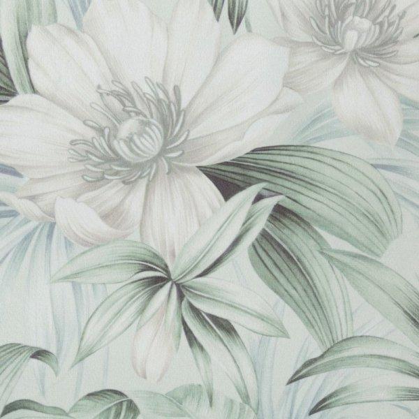 Zasłona MIRIAM Liście - Kwiaty 140X250 Eurofirany