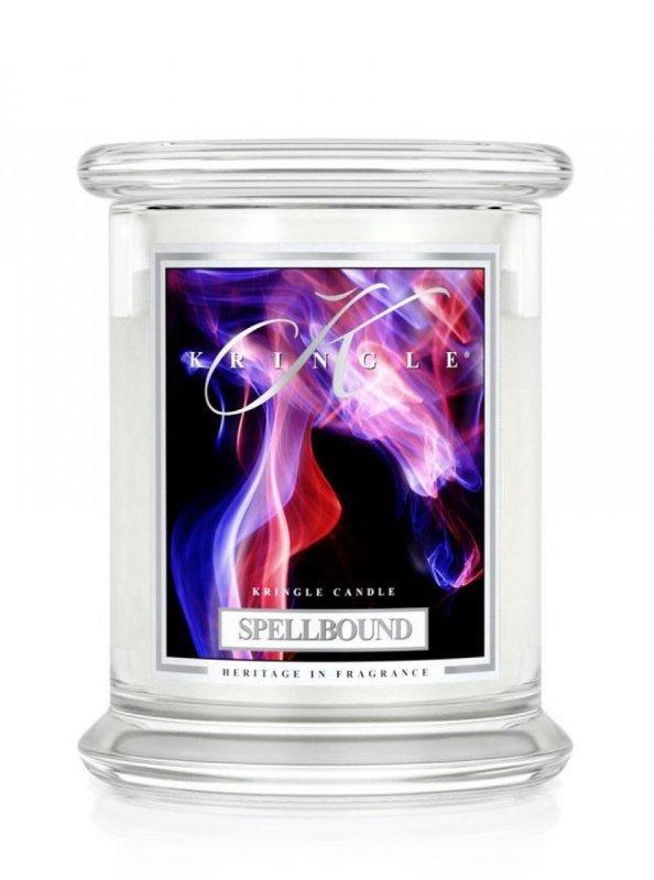 Kringle Candle - Spellbound - średni, klasyczny słoik (411g) z 2 knotami