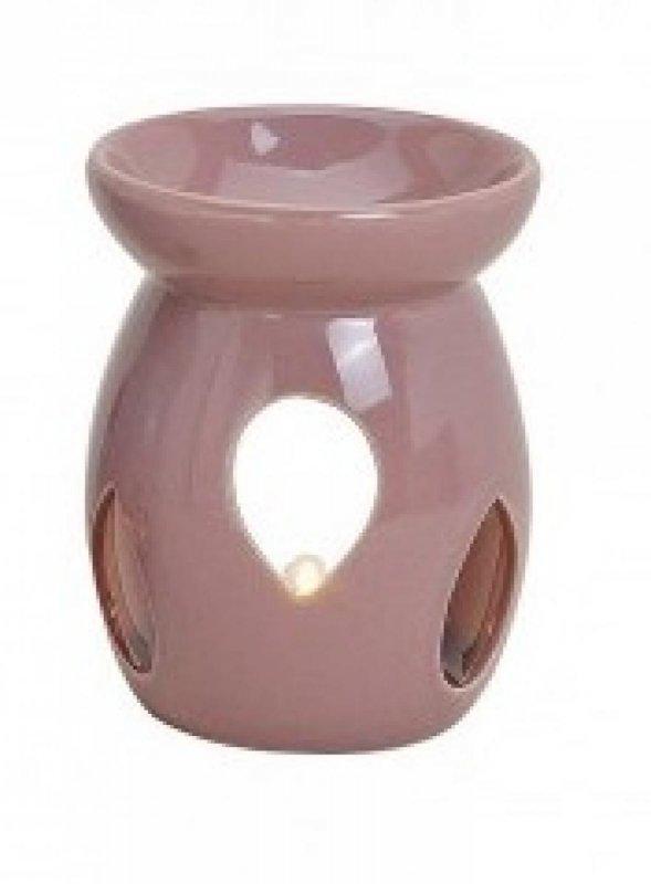 Kominek do wosków: Z łezką pastelowy (fioletowy)