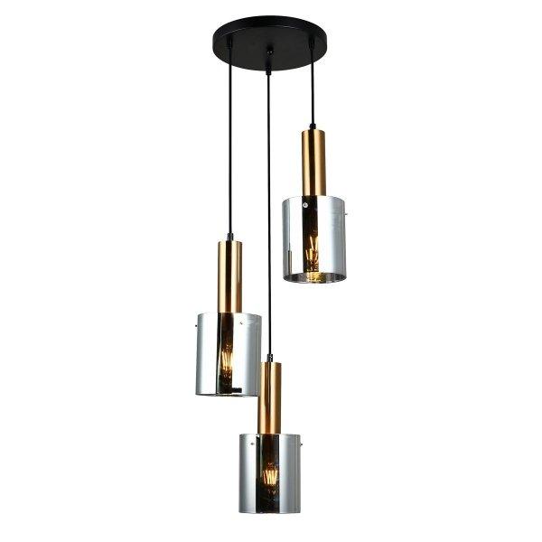 Lampa Sardo - PND-5581-3A-BRO+SG - Italux